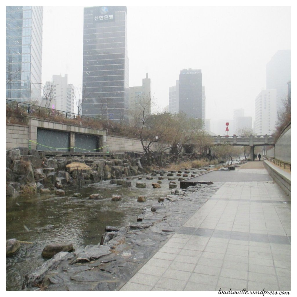 Rivière à Séoul