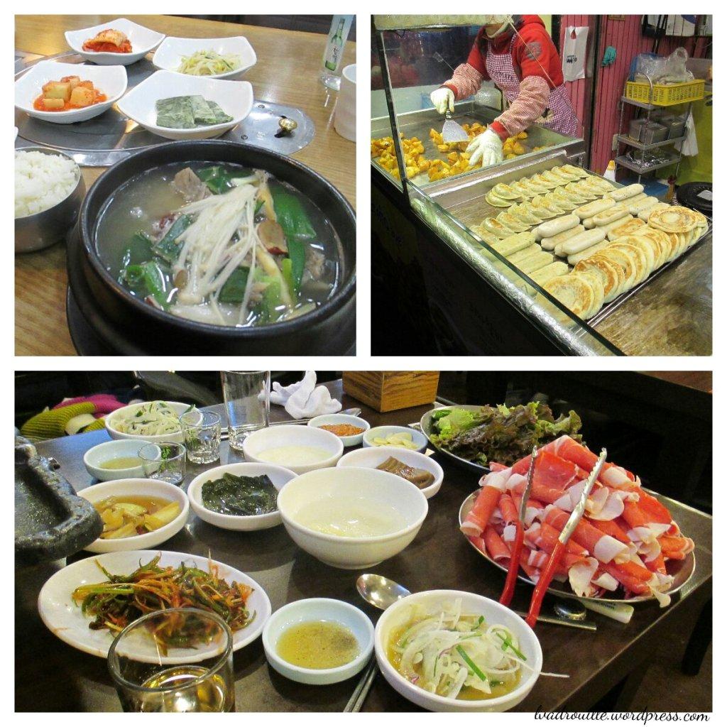 manger à Séoul